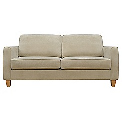 Debenhams - Medium velour 'Dante' sofa