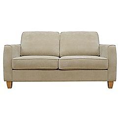 Debenhams - Small velour 'Dante' sofa