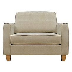 Debenhams - Velour 'Dante' loveseat