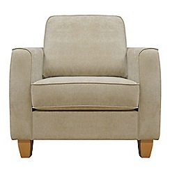Debenhams - Velour 'Dante' armchair