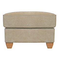 Debenhams - Velour 'Dante' footstool