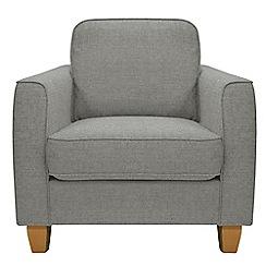 Debenhams - Textured 'Dante' armchair