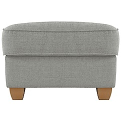 Debenhams - Textured 'Dante' footstool