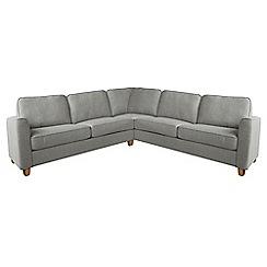 Debenhams - Textured 'Dante' corner sofa