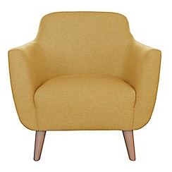 Ben de Lisi Home - Tweedy fabric 'Marco' armchair