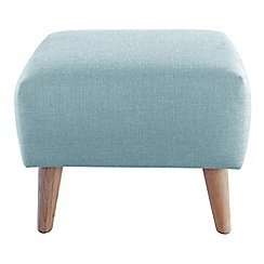 Ben de Lisi Home - Tweedy fabric 'Marco' footstool