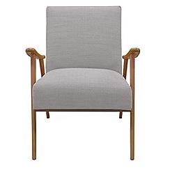 Debenhams - Fleck weave 'Kempton' armchair