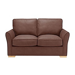 Debenhams - Leather-look 'Fyfield' sofa bed