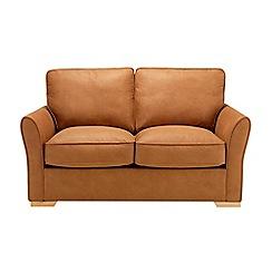 Debenhams - Leather-look 'Fyfield' sofa bed