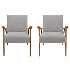 Debenhams - Set of 2 'Kempton' armchairs