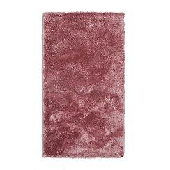 Debenhams - Pink 'Footsie' rug