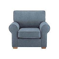Debenhams - Textured 'Charles' armchair