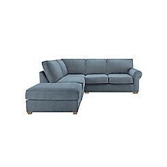 Debenhams - Textured 'Charles' left-hand facing corner sofa
