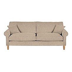 Debenhams - Extra-large textured 'Delta' sofa