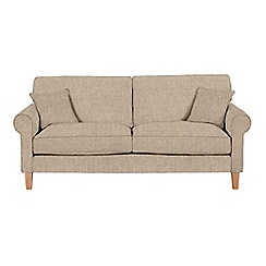 Debenhams - Large textured 'Delta' sofa