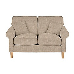 Debenhams - Medium textured 'Delta' sofa