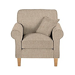 Debenhams - Textured 'Delta' armchair