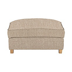 Debenhams - Textured 'Delta' footstool