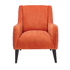 Debenhams - Velour 'Darcey' armchair
