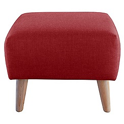 Ben de Lisi Home - Super-soft fabric 'Marco' footstool