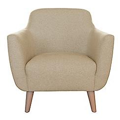 Ben de Lisi Home - Flat-weave fabric 'Marco' armchair