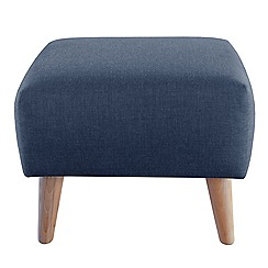 Ben de Lisi Home - Flat-weave fabric 'Marco' footstool