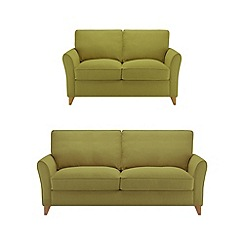 Debenhams - Set of large and medium flat weave 'Fyfield' sofas