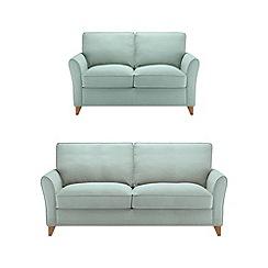 Debenhams - Set of large and medium flat weave 'Fyfield' sofas