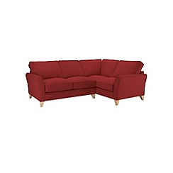 Debenhams - Flat weave 'Fyfield' right-hand facing corner sofa