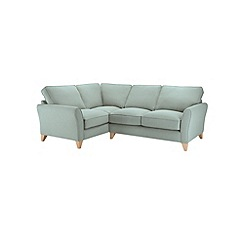 Debenhams - Flat weave 'Fyfield' left-hand facing corner sofa