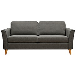 Debenhams - Large tweed fabric 'Boston' sofa