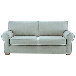 Debenhams - Large flat weave fabric 'Charles' sofa
