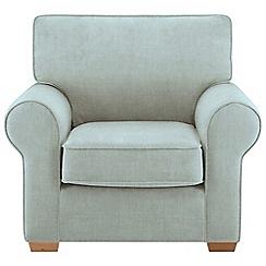Debenhams - Flat weave fabric 'Charles' armchair