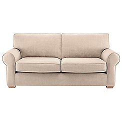Debenhams - Large velour 'Charles' sofa