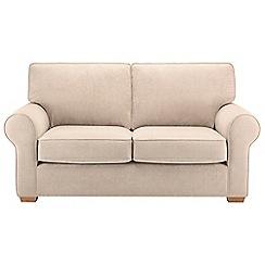 Debenhams - Medium velour 'Charles' sofa