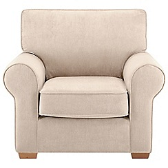 Debenhams - Velour 'Charles' armchair