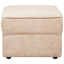 Debenhams - Velour 'Charles' footstool