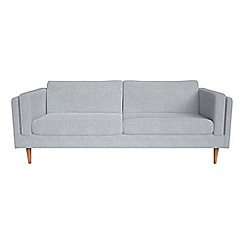 Debenhams - 4 seater brushed cotton 'Lille' sofa