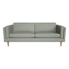 Debenhams - 4 seater textured weave 'Lille' sofa