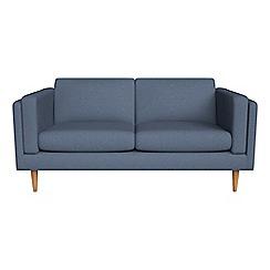 Debenhams - 2 seater flat weave fabric 'Lille' sofa
