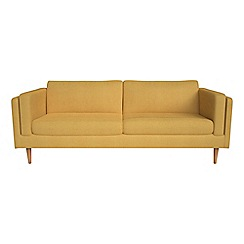 Debenhams - 4 seater tweedy weave 'Lille' sofa