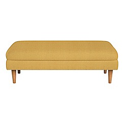 Debenhams - Tweedy fabric 'Lille' footstool