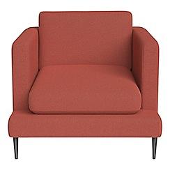 J by Jasper Conran - Flat weave fabric 'Ellsworth' armchair