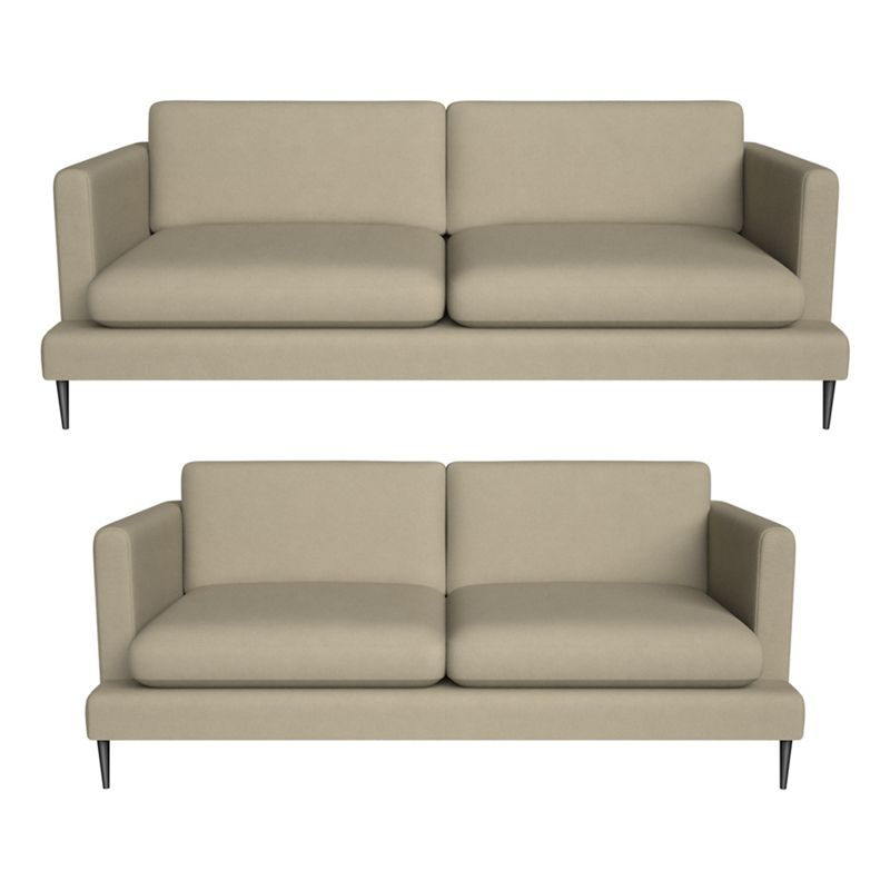 J by Jasper Conran - 3 Seater And 2 Seater Flat Weave Fabric 'Ellsworth' Sofas