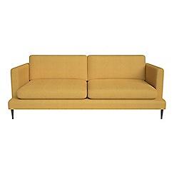 J by Jasper Conran - 3 seater tweedy weave 'Ellsworth' sofa