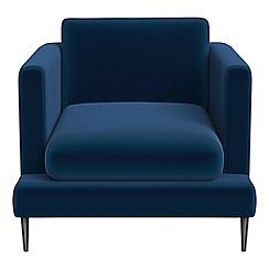 J by Jasper Conran - Velvet 'Ellsworth' armchair