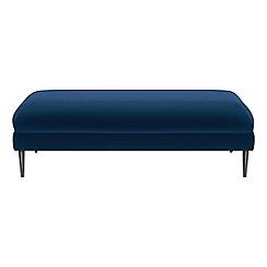 J by Jasper Conran - Velvet 'Ellsworth' footstool