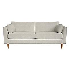 RJR.John Rocha - 3 seater brushed cotton 'Ravello' sofa