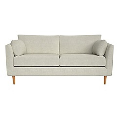 RJR.John Rocha - 2 seater brushed cotton 'Ravello' sofa