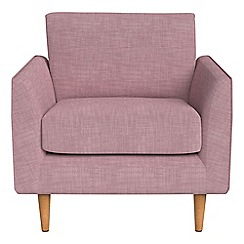 RJR.John Rocha - Brushed cotton 'Ravello' armchair